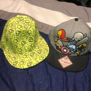 Snapback Hat Disney and Marvel
